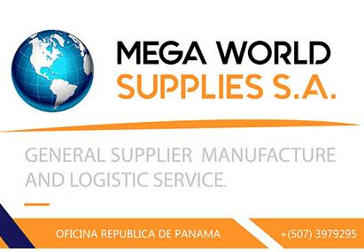 mEGA WORLD supplies. S.A: Nuestro distribuidor exclusivo para la república de Panamá.