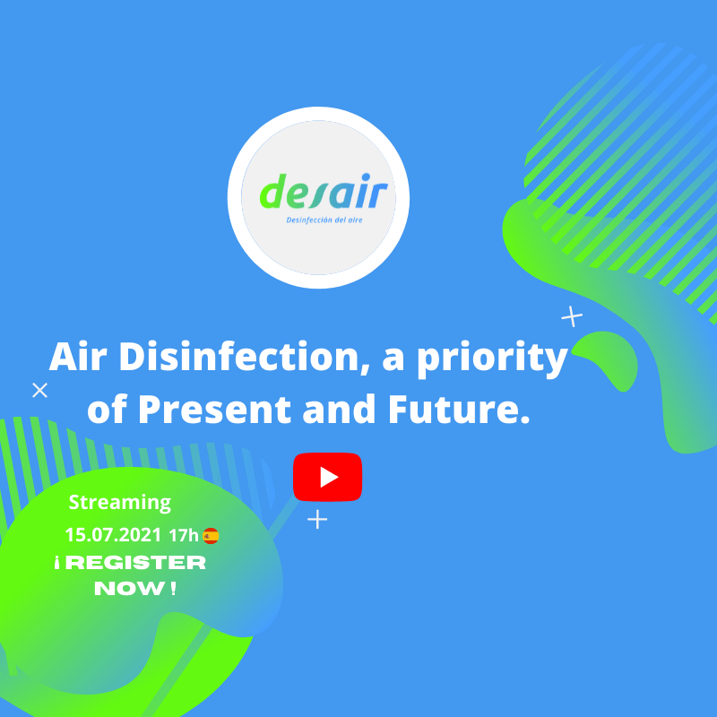 Air disinfection, a priority of Present and Future